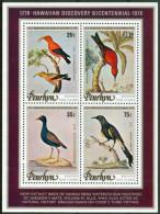 1978 Penrhyn Bicentenaire De La Déecouverte Des Iles Hawaii Uccelli Birds Oiseaux Set 2 Block MNH** -ZZ38 - Penrhyn