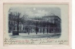 SUISSE / BERNE / BIEL / Gruss Aus Biel / Brunnenplatz / Carte à La Lune - BE Berne