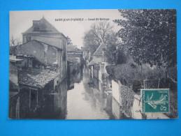 17: SAINT JEAN D´ANGELY: CANAL SAINT-EUTROPE  : C.P.A.: Carte En Trés Bon état : - Saint-Jean-d'Angely