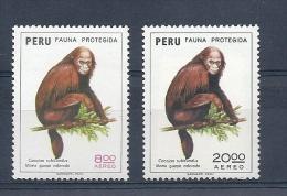 140013022  PERU  YVERT  AEREO  Nº  390/1  **/MNH - Peru