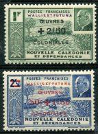 Wallis Et Futuna (1941) N 131 à 132 * (charniere)