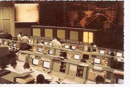POSTCARD NASA MANNED SPLACECRAFT CONTROL ROOM. UNCIRCULATED. GECKO. - Sterrenkunde