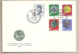 Svizzera - Busta FDC Con Serie Completa: Pro Patria - 1962 * G - Pro Patria