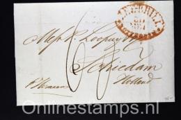 USA: 1840 Complete Letter Baltimore To Schiedam - Holland With Arr. Cancel - Verenigde Staten