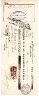 CHEQUE, CHEVALIER-PELE, Farines- Grains, B.P.F. 308.25, Laval, Le 28 Février 1935, (fr : 1.40) - Chèques & Chèques De Voyage