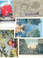 SOBRES  TARJETAS ENTEROS POSTALES FDC SPECIAL COVERS CARTAS OTROS UN MONTON UN MONTONAZO DE PIEZAS CIRCULADAS - Postzegels