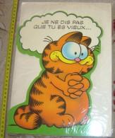CARTE CARD EVENEMENTIEL GARDFIELD COMPANY 1978 PAR JIM DAVIS JE NE DIS PAS QUE TU ES VIEUX - Bandes Dessinées