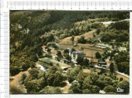 CHAMBORIGAUD  -  Le Château De  CROUZAS  -  Vue Aérienne - Chamborigaud