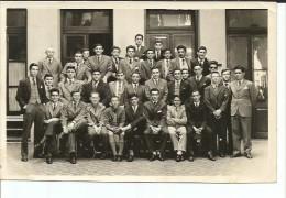 HOMBRES JOVENES FOTOGRAFIA ESCOLAR  1955   FOTOGRAFIA TAMAÑO APROXIMADO 18X15 CM   OHL - Personas Anónimos