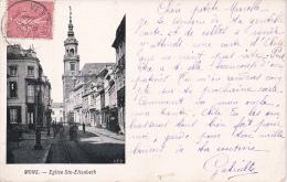 CPA Mons - Eglise Ste-Elisabeth - 1905 (4776) - Mons