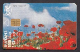 GREECE P  2001  - 05 / 01  -  1.000.000   USED -  2 Scans. - Griekenland