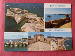 Dep 56 , Cpm PORT LOUIS , Multivues ,  La Citadelle , La Plage Et Le Port De Peche , 1628  (479)Recto/Verso - Port Louis