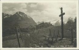 Les Sciernes D´Albeuve, Croix De La Crétaz - FR Fribourg