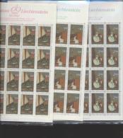 Liechtenstein **  957-959 Der Brief      Kleinbogen Ungefaltet Katalog 110,00 - Unused Stamps