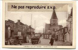 - 1 - MAREUIL-sur-LAY - (Vendée ), Entrée Route De Luçon, Camions Ave Futs, Camionnette, Garage, Non écrite,TBE, Scans. - Mareuil Sur Lay Dissais