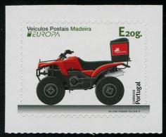 Portugal, Madeira - 2013 - Véhicules Postaux, Europa 2013 - 1v Adhesive Neufs // Mnh - 2013