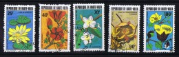 HAUTE-VOLTA  1982  Fleurs  Oblitérés - Haute-Volta (1958-1984)