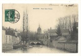 Cp, 21, Beaune, Pont St-Martin, Voyagée 1910 - Beaune