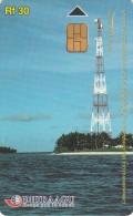 MALDIVES ISL. - Telecom Tower, CN : 294MLDGITA Used - Maldiven