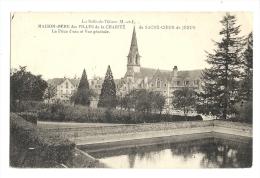 Cp, 49, La Salle-de-Vihiers, Maison-Mère Des Filles Dela Charité Du Sacré-Coeur De Jésus, Vue Générale Et Pièce D'Eau - France