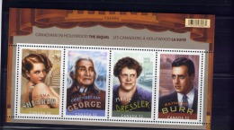 CANADA 2008, #2279, CANADIANS IN HOLLYWOOD:THE SEQUEL  .  GOOD CONDITION  SS - Blocs-feuillets
