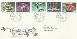 Great Britain 1983 Christmas Addressed FDC - FDC