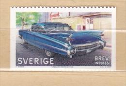 OLD CAR - CADILLAC COUPE DE VILLE -  Stamp MNH SWEDEN 2009 ALTES AUTO AUTOS VIEILLE VOITURE VOITURES CARS - Cars