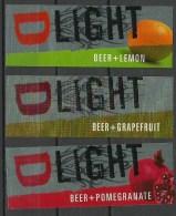 ESTONIA Estland Estonie 1990ies Beer Labels DeLIGHT - Beer