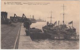 Zeebrugge (B): CONVOYEURS Et DRAGEURS De Mines Anglais / English CONVOYS And MINE SWEEPERS (1914-18) - Guerra