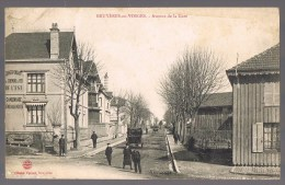 BRUYERES - LES - VOSGES . Avenue De La Gare . - Bruyeres