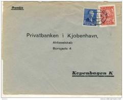 Lithuania Komercinis Bankas To Privatenbanken Kopenhagen - Lithuania