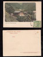 Peru 1906 Picture Postcard CHANCHAMAYO - Peru