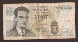 België Belgique Belgium 15 06 1964 20 Francs Atomium Baudouin. 2 Y 5691636 - [ 6] Treasury