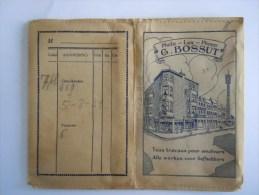 Pochette Photo 1934 Photo - Lux - Phono G.Bossut Hoboken Pub Gevaert Kodak Zeis-Ikon His Master's Voice - Matériel & Accessoires