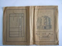 Pochette Photo Circa 1935 Photo - Lux - Phono G.Bossut Hoboken Pub Gevaert Kodak Zeis-Ikon His Master's Voice Abimé - Matériel & Accessoires