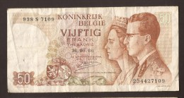 België 50 Frank 14-5- 1966 -NO: 938 S 7109 - [ 6] Treasury