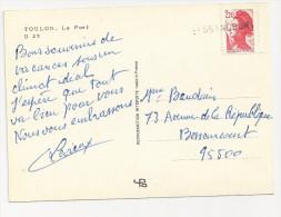 Griffe Linéaire BESSANCOURT Val D'Oise Sur Liberté De Gandon YT2376 - Marcophilie (Lettres)