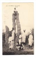 CPA SOMALIE 1913 :  Une Termitiere - Ant-hill - Somalia