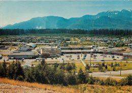 Kitimat Aluminium City, British Columbia BC, Canada Postcard Used Posted To UK 1978 - Otros