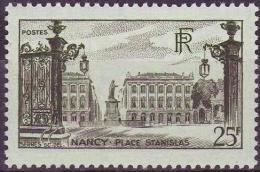 FRANCE 778 ** MNH Place Stanislas NANCY Lorraine (CV 5,35 €) - Unused Stamps