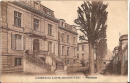 CPA - PONTOISE - Institution Sainte Jeanne D'Arc -  Jehanne D'Arc - Sépia - - Pontoise