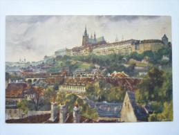 PRAG  :  Hradschin   -  Carte Couleur - Tschechische Republik