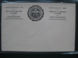 Timbres Belgique : Enveloppe Foire Philatélique, Semaine De La Croix Rouge, Palais Des Beaux Arts - Belgique