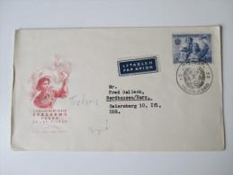1956 Luftpost In Die DDR Zensurstempel?? Sonderstempel - Briefe U. Dokumente