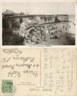 Palm Bay, Cliftonville, Margate, Kent Postcard 1911 Stamp HS Marine RP - Margate