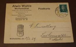 Deutsches Reich Brief   444 Diez A.d.L.  Lebensmittel   #cover2277 - Deutschland