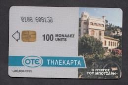 GREECE P  1993  - 012 / 93  -  1.200.000   USED -  2 Scans. - Griekenland