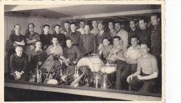 Photographie - Militaria - Groupe Musique Militaire - Prisonniers de Guerre