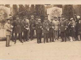 Photographie -  Militaria - Groupe de Militaires - Gendarmes M�dailles - Colonial