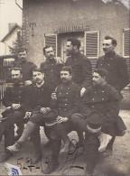 Photographies - Militaria - Groupe de Militaire 1919